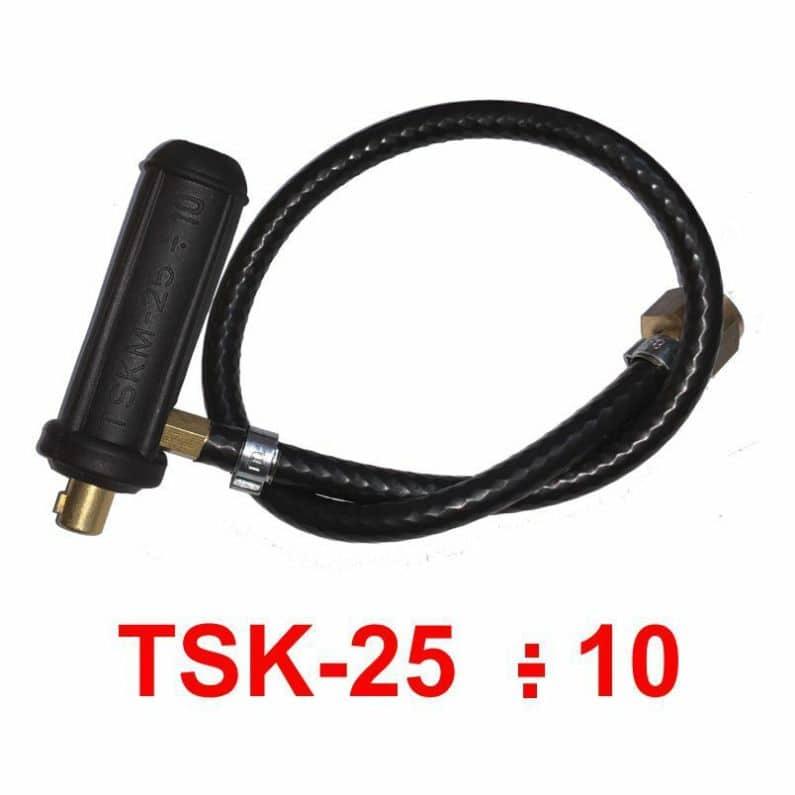Gas//Wasser 1//4 M1x12 Strom Anschluss Contact 9-13mm Dorn WIG//TIG SR 9 17 20 26